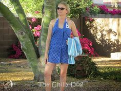 The Chilly Dog: Crochet Pattern: Swim Cover-up...directions for any size