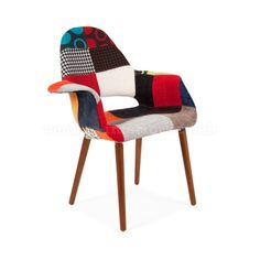 Products | Vertigo Interiors USA Patchwork Organic Arm Chair - Inspired By Designs of Charles & Ray Eames | Vertigo Interiors USA