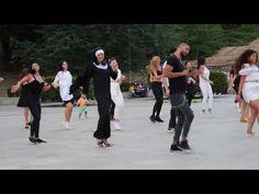 "Jerusalema- ""Sora Magdalena""- Flashmob version - YouTube Music Video Song, Music Videos, Sora, Have Fun, Entertaining, Workout, Youtube, Beautiful, Dancing"