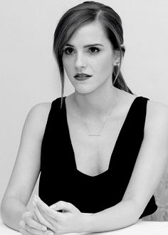 Emma Watson is such a strong woman! I appreciate what she's doing and I think, we all have to love her because she's just a wonderful person.