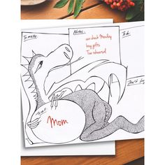 Adult coloring page Perpetual Printable Planner or To do list with... (€2,44) ❤ liked on Polyvore featuring home, home decor, black and white home decor, black white home decor and dragon home decor