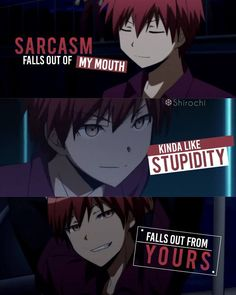 Karma Akabane Assassination Classroom Anime Quote Karma Akabane Assassination Classroom Anime Quote You are in the right place about…More Citations Karma, Karma Frases, Sad Anime Quotes, Manga Quotes, Otaku Anime, Anime Manga, Anime Guys, Anime Art, Manga Japan