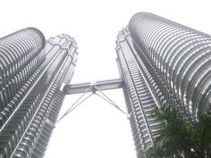 Kuala Lumpur, Malaysia--this was our visit to the Petronas Towers.