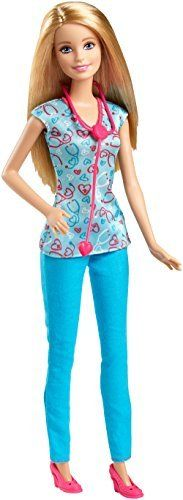 [Barbie] Barbie Careers Nurse Doll DGG41 [parallel import goods] >>> You can find out more details at the link of the image.