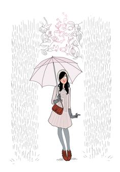 Happy raining - Margaux Motin