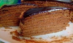 CHOCOLATE HONEY CAKE �� / Chief-Cooker