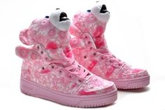 cf21d446f338 Adidas Originals x Jeremy Scott JS Flower Bear Pink