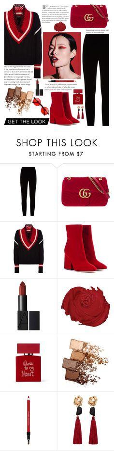 """Untitled #644"" by molaqonitamualim ❤ liked on Polyvore featuring Eileen Fisher, Gucci, Burberry, Maison Margiela, Bella Freud, Maybelline, Shiseido, MANGO, girlpower and powerlook"