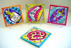 fabulous — love the idea of painting coasters.