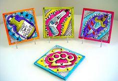 fabulous —love the idea of painting coasters.
