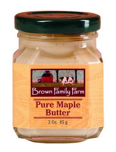 Vermont Maple Butter Jar