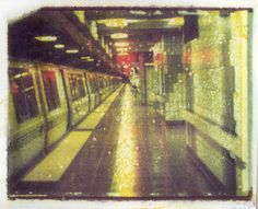 Polaroid Transfer - Sf Bart | Flickr - Photo Sharing!