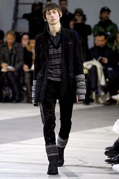 Number (N)ine Fall 2007 Menswear Collection Slideshow on Style.com