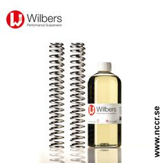WILBERS SAE 2,5-5-7,5-10-15-20 Zero Friction syntetiska gaffelolja 1 liter