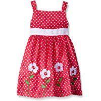 Girls Fancy Dresses, Toddler Girl Dresses, Little Girl Dresses, Toddler Girls, Infant Toddler, Cute Outfits For Kids, Flower Dresses, Baby Dress, Dot Dress