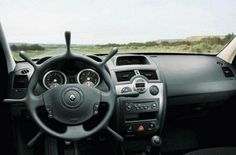 Rudder-shaped car steering wheel so you can pretend your on a pirate ship. Arrrrg:)