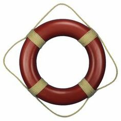 Life preserver wall decor...too obvious??