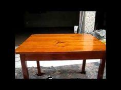 Reforma de móveis antigos - Restauração de móveis antigos - YouTube