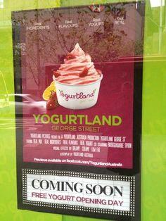 Yogurtland Australia