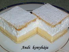 Andi konyhája - Sütemény és ételreceptek képekkel - G-Portál Vanilla Cake, Baking, Recipes, Food, Cakes, Sheet Cakes, Cake Makers, Bakken, Essen
