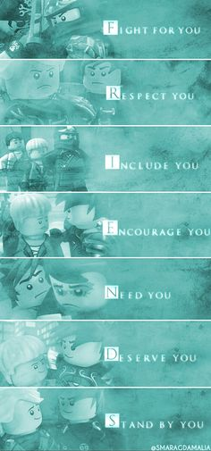 "• #LEGO #LEGONinjago #Ninjago • [""What is a friend?""] #quote • #Lloyd #LloydGarmadon #Kai #KaiSmith • My Edit. Hope you'll like it! :-)"