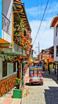 The colorful city of Guatape, Colombia definitely needs to be on your list.