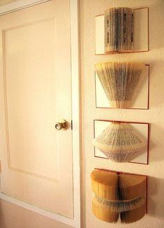 35 Sensible Vintage-Like DIY Book Paper Crafts For Your Home homesthetics decor (1)