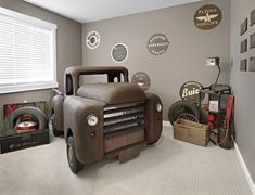 3 Relaxing Clever Ideas: Industrial Farmhouse Magnolia Market industrial cafe li… - All For Decorations Car Themed Nursery, Car Themed Bedrooms, Car Bedroom, Bedroom Themes, Kids Bedroom, Bedroom Decor, Themed Rooms, Kids Rooms, Bedroom Ideas