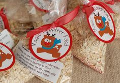 Magic Reindeer Food: normally I don't go for stuff like this, but this has a cute little poem about sprinkling on your lawn so it will shine bright for reindeer to see and I know my boys would get a kick out of that!