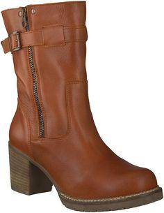 Cognac JJ FOOTWEAR korte laarzen | boots