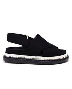 MARNI - Felt Fussabett Sandals