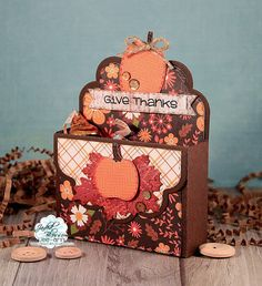 Snappy Scraps: Jaded Blossom Thanksgiving Challenge