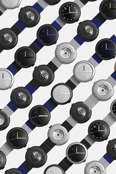 CUSTOM SWISS MADE WATCHES. For designers, architects and daydreamers. Featuring An ETA 2824-2 automatic movement, double domed sapphire crystal, diamond like carbon coating and a bespoke rotor design. The soft pebble-like 42mm case makes it well balance for male and female wrists. Designed in London, Swiss made, Delivered in 3 weeks. Objest.com #Christmasgifts #giftsforher #giftsforhim #Swissmade #Watches #Designer #productdesign #Automaticwatches