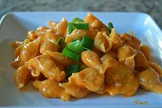 Girl and her Kitchen: Buffalo Chicken Pasta