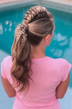 Ponytail With Snake Braid ❤  #lovehairstyles #hair #hairstyles #haircuts