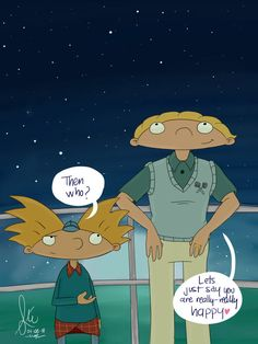 HA: The Honest Dream by InvisibleDeath on deviantART. Arnold and Helga from Hey Arnold!