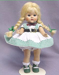 Ginny dolls were another popular doll in the 1950s. I had a Ginny doll that my mom made beautiful clothes for.