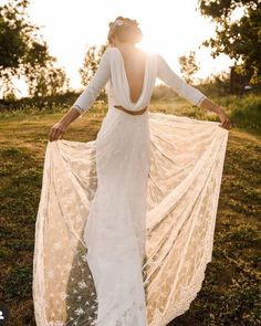 21 Best Of Greek Wedding Dresses For Glamorous Bride ❤ greek wedding dresses sheath v back with sleeves rimearodak #weddingforward #wedding #bride