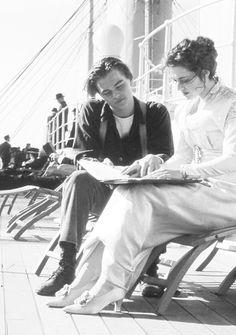Leonardo DiCaprio + Kate Winslet, Titanic (1997)