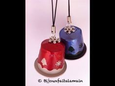 Nespresso DIY How to make Christmas bells, My Crafts and DIY Projects