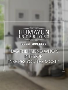 Tag the friend who's interior inspires you the most!  http://www.humayuninteriors.com/ Call us 021-34964523 ,021-34991085 Shop no: CA-5,6,7 Hassan center, University Road Gulshan-e-Iqbal Karachi Pakistan  #Banquets_carpets #Commercial_carpets #Office_carpets #Berber_carpets #Loop_carpets #Highpile_carpets #Masjid_carpets #Contemporary_rugs #Area_rugs #Centerpieces #Abstract_modern_rugs #Marquee #Shadihallmarquee #Vinyl