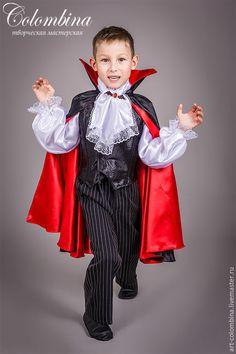 Детские карнавальные костюмы ручной работы. Заказать костюм графа Дракулы. Olga…