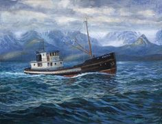 Boat Art | have always loved painting the sea and boats recently