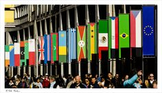People and flags for  Expo 2015 from Milano by Nicola Di Nola on 500px
