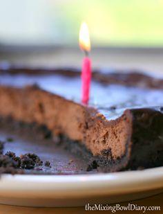 Dairy Free Chocolate Cheesecake {Gluten Free}