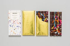 Mexican chocolatier Unelefante's Pollock Chocolate Bar is hand-painted with bright spatters of colored cocoa butter, so each is one of a kind. Read on for more chocolate gift ideas for Valentine's Day now.