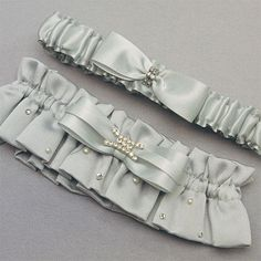 Platinum by Design Wedding Garter Set