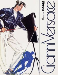Antonio Lopez - Gianni Versace Campaign, 1984