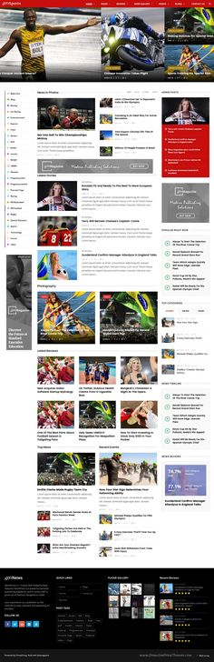 Geo magazine is a clean and modern #WordPress theme for #sports #Olympics #news, magazine, blog or newspaper website with 10+ niche homepage layouts download now➯ https://themeforest.net/item/geo-magazine-modern-responsive-newspaper-news-portal-wordpress-theme/17352596?ref=Datasata