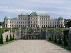 Palacio Belvedere en Viena(Austria)